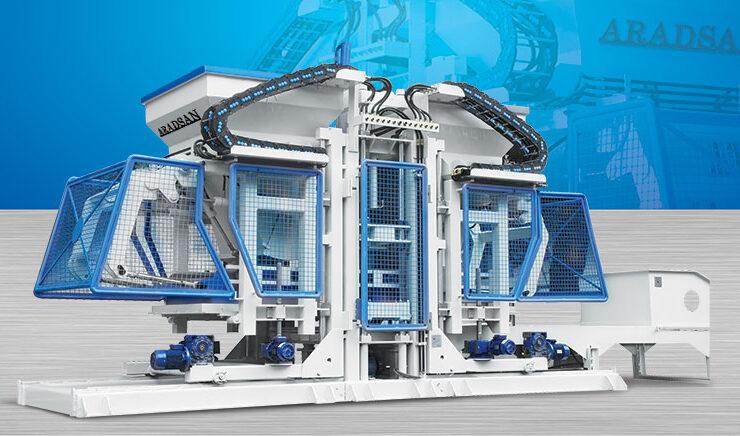 ماكينة إنتاج الحجرالرصيف